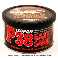 isopon p38: super easy sanding lightweight body filler