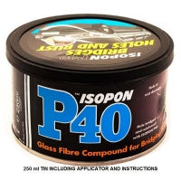 isopon p40: glass fibre repair paste 250ml